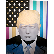 Painting  of Hayo Sol    :   TRUMP