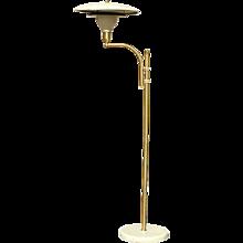 M.G. Wheeler Sight Light Brass Floor Lamp
