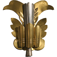 Grand Hollywood Theater Leaf Sconce