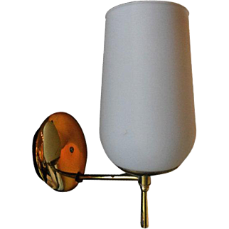White single Sconce inspired by PArzinger