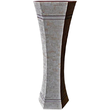 "Contemporary ""MARBLE"" Pedestal"