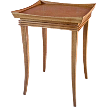 Paul Frankl Sabre Leg Side Table