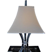 Acrylic Table Lamp by Ritz