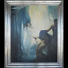 """Bathsheba"" Painting by Oskar Wiedenhofer"