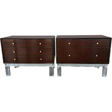 Pair of Commodes or Nightstands by Mengel Module