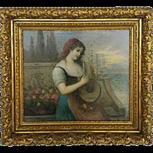 Painting Signed P. Masini