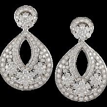 VAN CLEEF & ARPELS Diamond Snowflakes Earrings