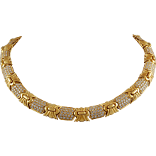 Bugari Diamond Necklace