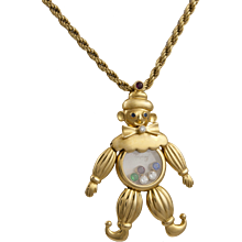 Clown Pendant by Chopard