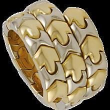 Three Row Ring by Bulgari