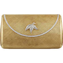 Yellow Gold Diamond Evening Bag