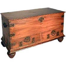 Indo-Portuguese Camphorwood Blanket Chest