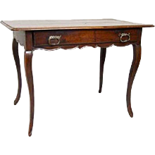 French Louis XV Period Walnut Tea Table