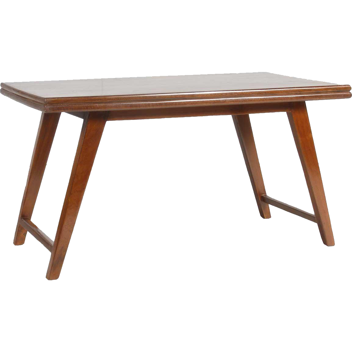 Teak Coffee Table India: PIERRE JEANNERET Teak Coffee/Cocktail Table From