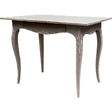 Swedish Gustavian Style Painted Pine Side Table