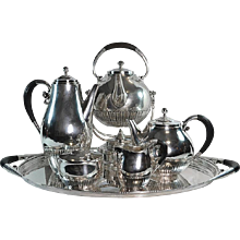 Georg Jensen Cosmos Coffee & Tea Service No. 45