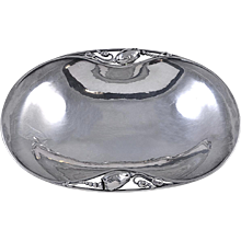 Georg Jensen Silver Biscuit Bowl No. 2A