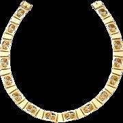 Georg Jensen Gold Necklace No. 275.