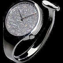 Vivianna Torun Bülow-Hübe Diamond & Stainless Steel Watch