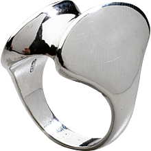 Georg Jensen Sterling Silver Ring No. 140