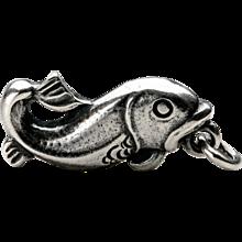 Georg Jensen 'Fish' Charm No. 4