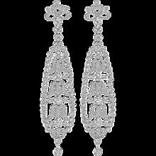 Diamond & Platinum Earrings