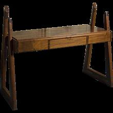 1960's Walnut Writing Desk