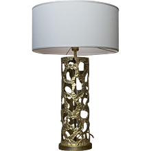 "Flair Edition ""Cylinder"" Table Lamp"