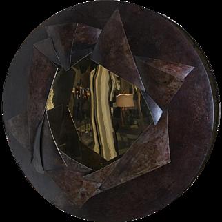 """Eclats"" Sculptural Mirror by Elie Hirsch"