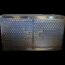 Intreccio Steel Band Cabinet Flair Edition