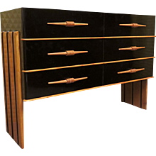 Very Particular Dresser Art Deco Attributed to Pierluigi Colli