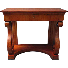 Biedermeier Console Table