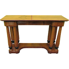 Console Biedermeier in Cherrywood