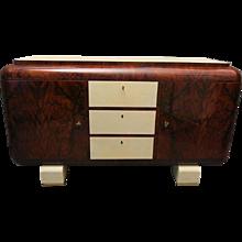 Italian Art Deco Walnut Sideboard