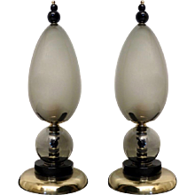 Two Fantastic Murano Table Lamps