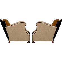 Two Italian Club Chairs