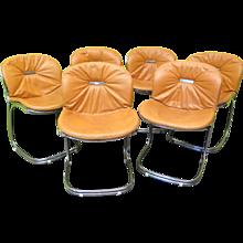 Six Chairs by Gastone Rinaldi