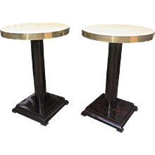 Pair of Side Tables Art Deco
