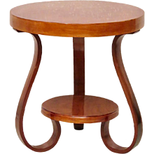 Side Table in Cherrywood, 1930s