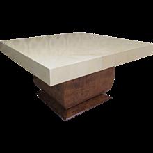 Austrian Cocktail Table with Parchment Top