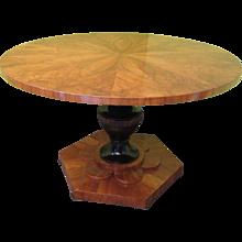 Center Biedermeier Table