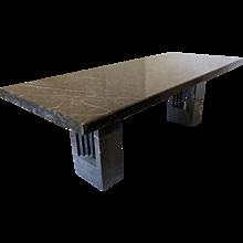 Delfi Marble Table Design Marcel Breuer & Carlo Scarpa 1969
