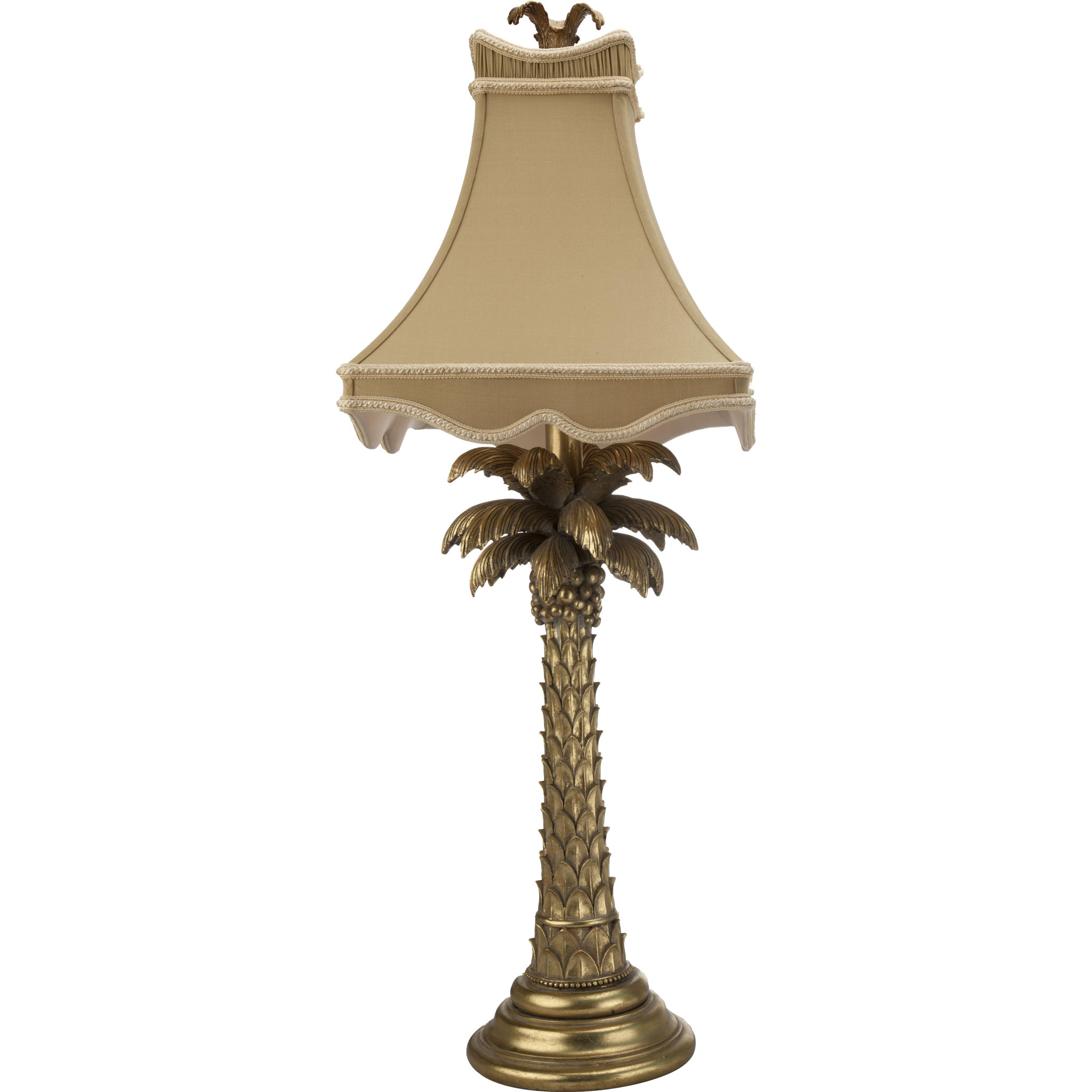 Gold Palm Tree Table Lamp From Treasurekeepers On RubyLUX