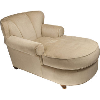 Grange Furniture Art Deco Style Chaise Longue