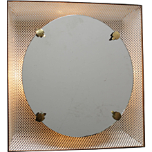 French Back Light Mirror