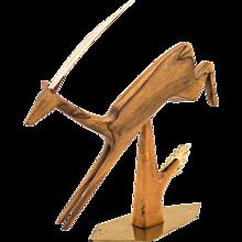 Pouncing Gazelle by Hagenauer