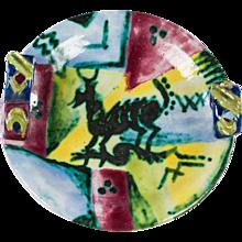 Ceramic Bowl by Vally Wieselthier for Wiener Werkstatte
