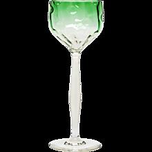 "Wineglass ""Meteor"", Koloman Moser, Bakalowits, Vienna, Meyr's Neffe, ca. 1900"