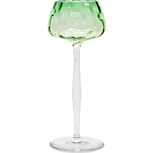 "Wineglass ""Meteor"" tulipshape Koloman Moser Bakalowits Vienna Meyr's Neffe ca. 1900"