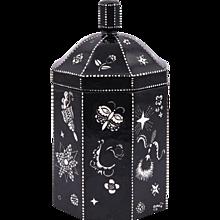 Lidded Jar by Dagobert Peche Wiener Werkstatte ca. 1912